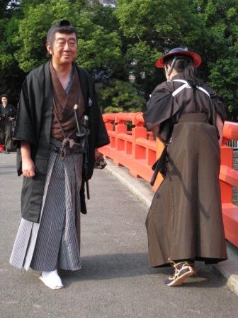 最近のコスプレ写真: 刺客とすれ違う清河八郎